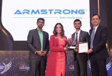 Armstrong recognised as Promising Brand by The Economic Times